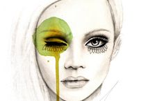 face illustrations