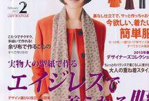 livres patron japonais