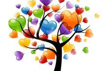 arbre à coeur