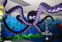 Under the sea party decorations / by Heather Messinger