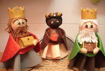 belén navidad goma eva