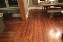 Southern Yellow Pine / wide plank yellow pine flooring