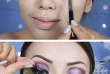tutoriais de maquiagem