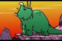 dinosaur wolf