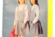 1980s kids sewing patterns