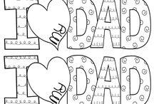 Father's Day - preschool