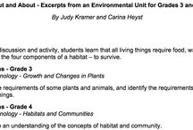 Environmental Lesson Plan Ideas / See ideas for environmental lesson plans! Shape these plans according to the interests of your children to fost inquiry-based learning in your home or classroom!