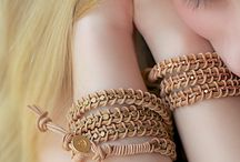 Schmuck selber machen / Armband Leder