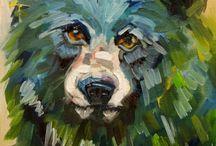 Art Animals / by BohemianBeachJunque