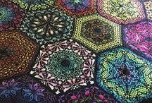 knit hexagon
