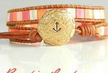 Artisan Jewelry Supplies, Sterling Silver Jewelry Findings by RusticLuster™ / Artisan jewelry findings and handmade sterling silver jewelry supplies & components to add a romantically rugged allure to your own creative jewelry designs. We specialize in REVERSIBLE pieces to double your possibilities! We offer Chan Luu wrap bracelet supplies like button clasps. See www.RusticLuster.com for more ideas. Coupon code PIN10 saves you 10% right now!