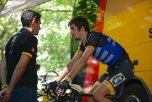 Tour de France - Arctic Heat / Tour de France teams and riders using Arctic Heat ice vests to pre-cool before racing