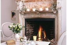 Fireplace ❥ Mantels