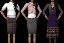 The Sims 2 clothings