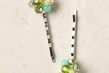 Hair - bobby pins & stick pins
