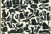 Furry, fantastical felines / by Grace Allen