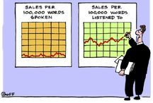 Business Cartoons / Funny or clever business ideas and quotes in a form of a cartoon or infographics