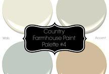 Paint Palette Ideas