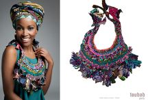 Fabric Inspired Jewelry - ideas on how to use up those remnants from your Fettuccia purses