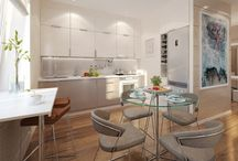 KITCHEN / кухня, обустройство, мебель, параметры, дизайн