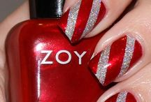 Xmas Nailart to try....