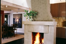 Fireplace Surrounds / Concrete fireplace surrounds, hearths, etc.