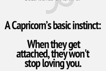 Capricorn love / Mitt tecken i kärlek.