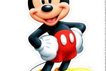 Mickey e Minnie nessa