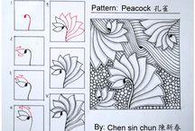 Zentangle / doodling