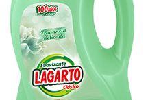 Productos Lagarto - Suavizantes / Toda la variedad de suavizantes Lagarto aquí.