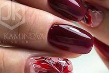 Nails осінь