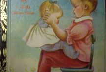 """Little Golden Books illustrated by Eloise Wilkins / Who doesn't remember having a beloved Little Golden Book when they were small?  My favorites were the ones illustrated by Eloise Wilkins. They are instantly recognizable.  Her illustrations are beautiful, and though """"old-fashioned"""" now, the pictures are still endearing, and the stories simple and sweet. Here are covers of 43 of the 47 Golden Book titles she illustrated. / by whoop"""