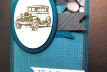 Father's Day / handmade cards, gift card holders and other items for the special man in your life