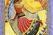 Sun / Dresses inspired by the sun tarot card