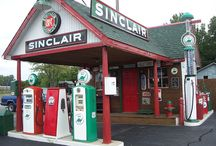 Old Gas Stations / by Lyons Roofing