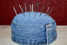 Игольницы из джинс