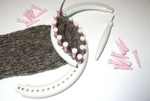 pletení na stavu/ loom knitting