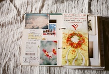 Paper Memories / Journals, mixed media and maybe even a little bit of scrapbooking! Things I love, but don't have time or patience to do.