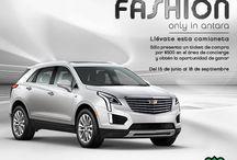 #DriveToFashion / ¡Obtén la oportunidad de ganar una Cadillac XT5 2017 paquete base presentando un ticket de compra por $500 en el área de concierge! #DriveToFashion -Luces de día -OnStar  -Ajuste electrónico en varias posiciones -Transmisión Automática de 8 velocidades