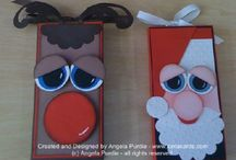 Christmas /Joulu / christmas crafts, card,art..