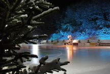 Mobile Eisbahnen und Winterwelten