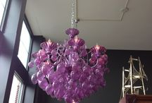 Red Chandelier - I want it! / Red chandelier / by Deborah Marie
