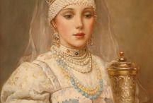 Russian folk dress (& other Eastern Europe)