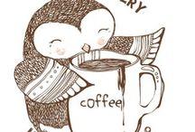 coffee & owl