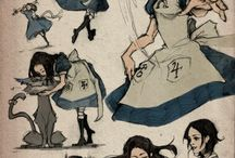 Alice's Madness Returns in Wonderland / Alice's battle to save wonderland, friends and herself...