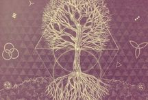 sagrada iluminati / gemonetría sagrada, ilustracion / by Anayantzin Contreras