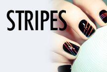 Stripe Nail Art & Nail Designs