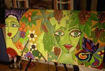 Mijn schilderijen / home made !!!