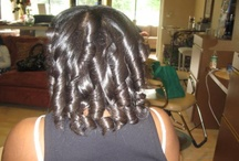 Relaxed hair styles