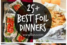 Foil dinners/meals